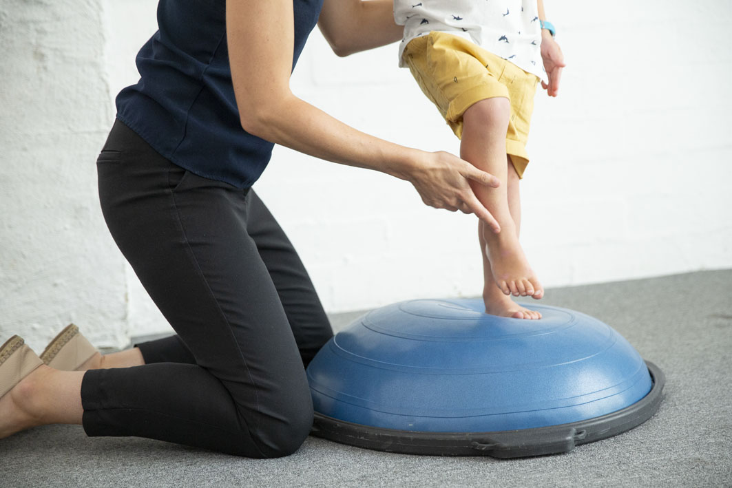 kids physio for ankles, walking and feet